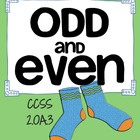 Odd and Even Numbers Lesson Plans 2.OA.3