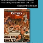Odyssey Books 13 & 14: Questions, Figure of Speech Activit