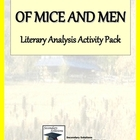 Of Mice and Men Standards Focus Activity Pack
