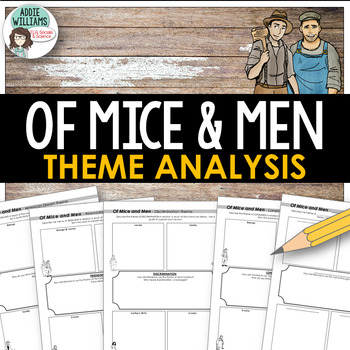 Of Mice and Men - Graphic Organizers for Theme