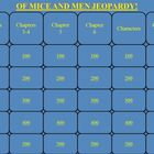 Of Mice and Men by John Steinbeck Jeopardy PowerPoint Game