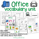 Office / Computer Room Vocab Unit for Special Education