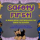 Safety First!  A Common Core Aligned Back To School Unit!
