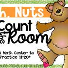 Oh, Nuts {A Count the Room Math Center}
