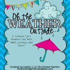 Oh the Weather Outside.. {Weather Themed Activities for Ma