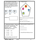 Ohio Achievement Assessment Third Grade Math Daily Practice