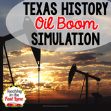 Oil Boom Dice Simulation with Writing Connection