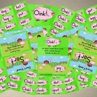 Oink! - Short Vowel Word Card Games