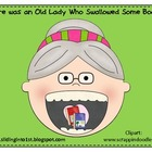 Old Lady Swallowed Books