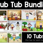 Old Lady Swallowed Sub Tubs {Bundled}