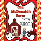 Old McDonald's Farm { CVCE Edition } Phonics Game
