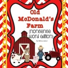 Old McDonald's Farm { Nonsense Word Edition }