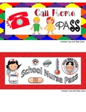 Older Kids Set of 10 Passes Bathroom Pass, Boys, Girls, Ha