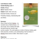 Olive's Ocean -by Henkes - Unit -Grades 6 & Up