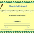 Olympic Spirit Award