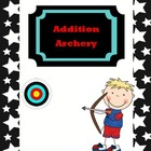 Olympics Addition Archery Common Core Game
