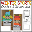 Olympics BUNDLE - Literacy Centers, Math Centers, & Craftivity