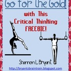Olympics Critical Thinking FREEBIE!