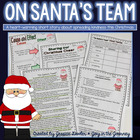 """On Santa's Team"" Christmas Comprehension Activities"