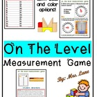 On The Level! A Measurement Game! (Great Center or Workstation!)