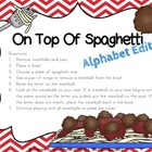 On Top Of Spaghetti Beginning Sound Edition