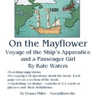 On the Mayflower  by Kate Waters (Book Study)