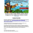On the Trail of John Smith- Activity Sheet for the Website