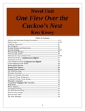 One Flew Over The Cuckoo's Nest, Ken Kesey Unit, 84 pages.