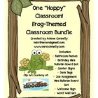 One Hoppy Classroom!  Frog Themed Classroom Bundle