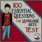 One Hundred Essential Questions for Language Arts TEST