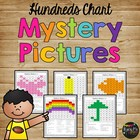 One Hundreds Chart Mystery Pictures Packet
