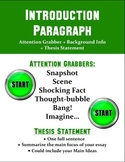 """One Paragraph at a Time"" Essay Posters"