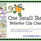 One Small Step Behavior Clip Chart