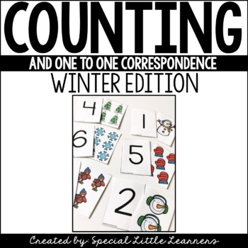 http://www.teacherspayteachers.com/Product/One-to-One-Correspondence-Activities-Winter-Themed-1588397
