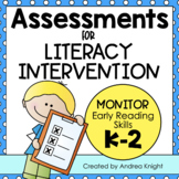 Ongoing Progress Monitoring Assessments for RTI  {K-2}