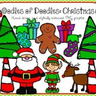 Oodles of Doodles: Santa and Elf Christmas Clip Art