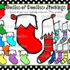 Oodles of Doodles: Stockings Clip Art