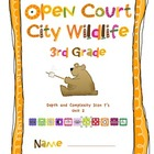 Open Court Depth and Complexity Icon Questions for City Wildlife