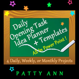 Opening Task Generic Template 4 All Subjects~Flexible2Use