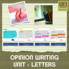 Opinion Writing - Checklists for Writing Workshop - Common Core!