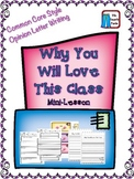 Opinion/Persuasive Writing Why You Will Love This Class Co