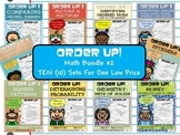 Order Up! Math Bundle #2 (10 Sets)