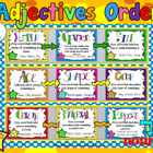 Ordering Adjectives Poster Set