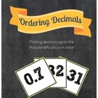 Ordering Decimals Sort {Common Core Aligned}