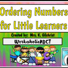 Ordering Numbers for Young Learners Promethean Flipchart Lesson