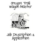 Oregon Trail Wagon Master Job Application Packet