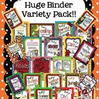 "Organizational Binder ""Mega"" Pack"