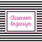 Organize and Go! Classroom Organizer {Stellar Stripes} Editable