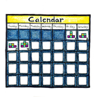 Original Illustrated Schedule Calendar Icon