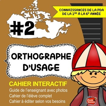Orthographe // Cahier Interactif